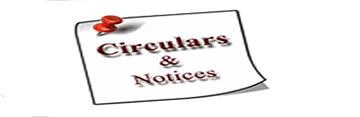 UPRERA IMPORTANT CIRCULARS & NOTICES